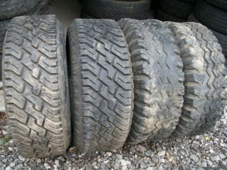 12 16 50 4 Big Large Mud Snow Heavy Duty Tow Truck Tires 10 Ply Truck