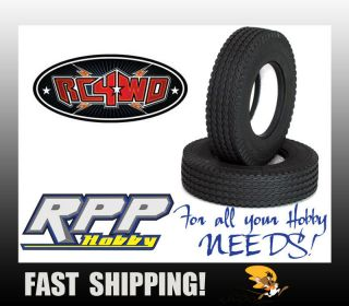 "RC4WD Retread 1 7"" Commercial 1 14 Semi Truck Tires 2 RC4Z T0033"