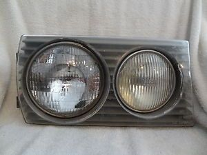 Mercedes Benz W123 RH Headlight Assembly Lights Lamp Coupe 75 85 280CE 280CD D