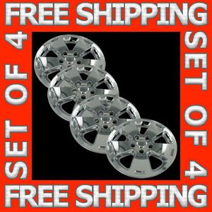"06 10 Chevy Impala 16"" Chrome Wheel Skins Hubcaps Covers Hub Cap Set Free SHIP"