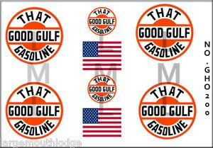 HO Scale 1 87 Custom Train Tanker Truck Decals GHO200