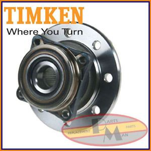 TIMKEN Front Wheel Bearing Hub Assembly Fits RAM 3500 Solid fnt Axle DRW No ABS