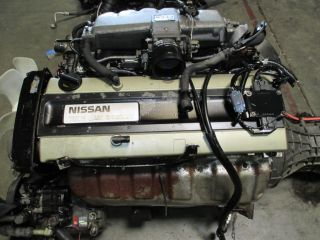 Nissan Skyline R32 JDM RB20DE Non Turbo Engine Trans Motor Long Block RB20 Used
