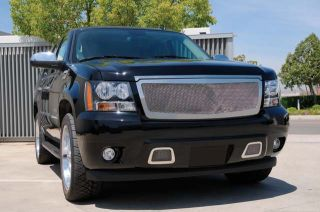 T Rex Chrome Upper Class Grill 2007 07 Chevy Avalanche