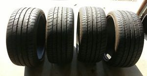 Toyo Tire Proxes T1 Sport 255 35R19 96Y All Season Continental Tire Set Lot of 4