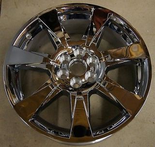 "Cadillac SRX 20"" Chrome Factory Wheel Rim 2010 12 4666 119"