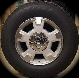 "New Ford F150 F 150 17"" Factory Aluminum Wheels Rims Tires 2004 14 Free SHIP"