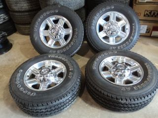 Factory Dodge 2500 3500 Aluminum Wheels 8x6 5 Firestone Tires 265 70R17