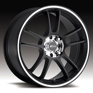 "16"" Wheels Rims American Eagle Wheels Black Polished Lip Cobalt Neon Honda Aveo"
