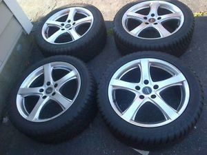 BMW Sport Edition Wheels 18x8 Dunlop SP Winter Sport M3 Snow Tires 245 45 18
