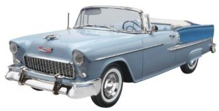 Monogram 1 25 '55 Chevy Bel Air Model Kit 85 4269