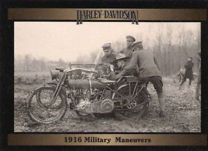 Harley Davidson Motorcycle 1916 Military Maneuvers During World War I RARE Find