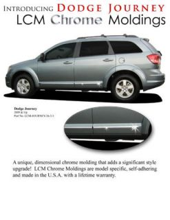 For Dodge Journey Chrome Lower Accent Mouldings Moldings Trim 2009 2013