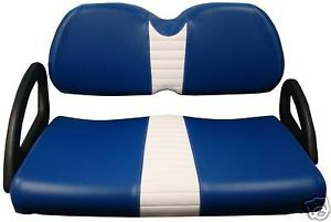 Club Car Precedent Golf Cart Vinyl Seat Cover Zips On