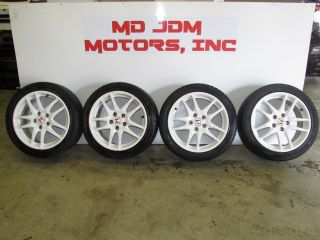 JDM Acura RSX Type R Wheels and Tires K20A DC5 Rims 17 inches 5x114 3