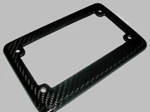 Suzuki GSXR 600 750 Real Carbon Fiber License Plate Frame 3M Twill 96 00 04 11