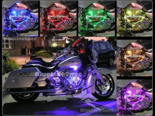 LED Motorcycle Lights Glow Kit for Harley Davidson Motorglow 15 Color SMD36