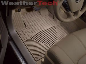 Weathertech® All Weather Floor Mats Nissan Murano Cabriolet 2011 2014 Tan