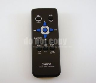 Clarion CMD5 Marine Boat Stereo CD  Remote Control Warranty Tracking