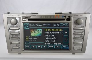 2007 2011 Toyota Camry DVD GPS Navigation Double 2 DIN Radio in Dash 08 09 10