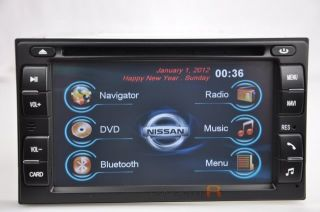 Nissan Titan DVD GPS Navigation Radio Double DIN in Dash 04 05 06 07 08 09 10 11