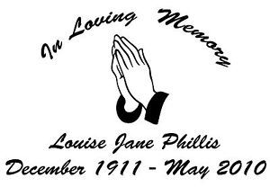 In Loving Memory Car Decals