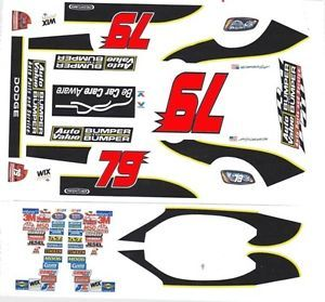 79 Kasey Kahne Auto Value Dodge 1 32nd Scale Slot Car Decals