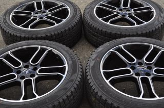 "20"" Ford Edge Black Wheels Rims Tires 2011 2012 2013 2014 Factory 3903"