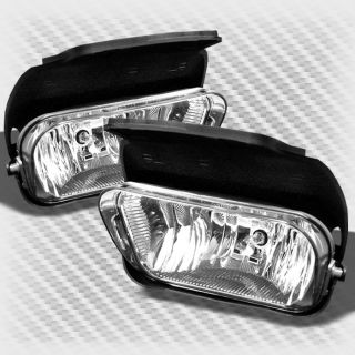03 06 Chevy Silverado 04 06 Avalanches Replacement Bumper Fog Lights Lamp Bulbs
