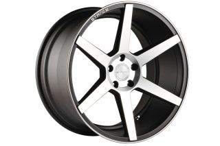 "20"" Infiniti G35 Coupe Stance SC 6IX SC6 Machine Concave Staggered Wheels Rims"