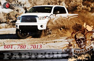 "2007 2012 Toyota Tundra 6"" Lift Kit US Made Fabtech Motorsports Free SHIP"