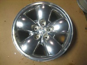 Used 2003 2005 Dodge RAM 1500 Aluminum Wheel 20x9 inch Chrome Plastic Skin
