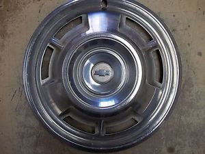 "1967 67 Chevrolet Camaro Hubcap Rim Wheel Cover Hub Cap 14"" Used 3001"