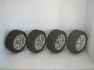 "New 2008 2009 Ford Mustang Shelby GT500 KR 18"" Alcoa Wheels Tires Set of 4"