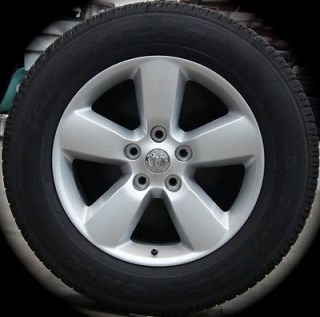 "New Dodge RAM 1500 20"" Factory Silver Wheels Rims Tires 2002 14 Free SHIP"
