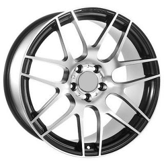 19 inch Audi Wheels Rims Factory Replica Style Matte Black