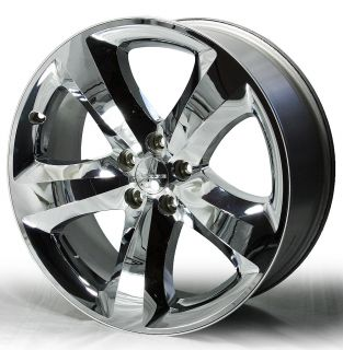 "20"" Factory Chrome 2011 2012 Dodge Challenger Wheels 2411 Part 1NQ47TRMAC"