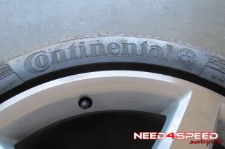 "19"" Factory AMG Mercedes Benz R231 SL550 Wheels Rims Continental Tires"