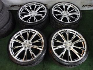 "New 22"" Ace Aspire Wheels Silver Bentley Continental GT GTC Flying Spur Tires"