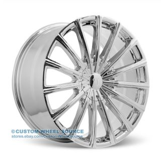 "18"" Velocity VW10 Chrome Rims for Kia Lexus Lincoln Mazda Wheels"
