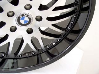 "22"" BMW Wheels Rim Tires 650i 645i M6 745i 750i 760i"