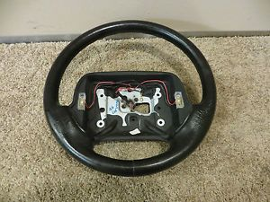 96 Chevrolet Corvette C4 LT1 Leather Steering Wheel Black Factory