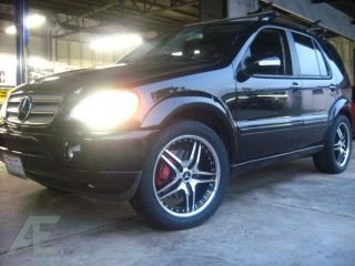 "22"" Mercedes AMG Style Rims Tires ml R GLK 350 500 550"