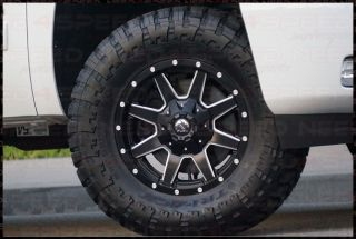"17"" MHT Fuel Maverick D538 Black Off Road Wheels Rims Fits Toyota Tacoma 4WD"