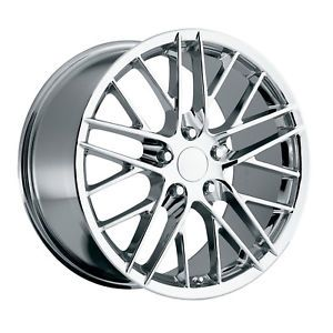 C6 ZR1 Corvette Chrome Wheels Rims for C4 or C5
