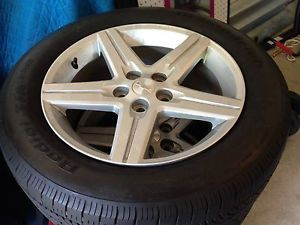 "2011 18"" Chevy Camaro Alloy Wheels Silver Tires and Factory Rims"