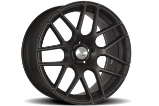 "20"" Mercedes Benz CLS550 CLS63 Rennen RS7 Black Concave Staggered Wheels Rims"