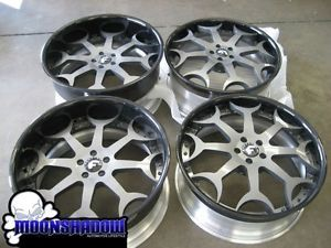 "22"" Forgiato Capolavaro Custom Painted Jaguar Wheels Rims 22x9 22x11 5x108"
