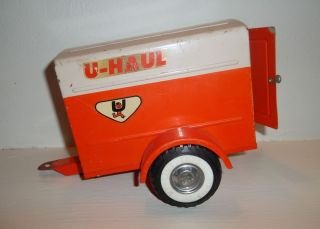 Vintage Old Nylint U Haul Trailer Pressed Steel Ford Wheels Toy