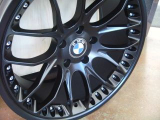 "20"" BMW Wheels Rim Tires E60 E63 E64 645CI 650i M5 M6"